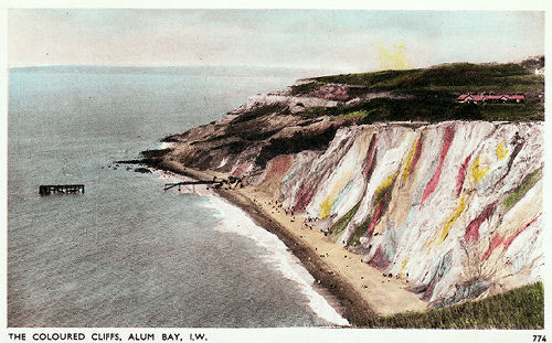 Alum Bay from the Cliffs 1930