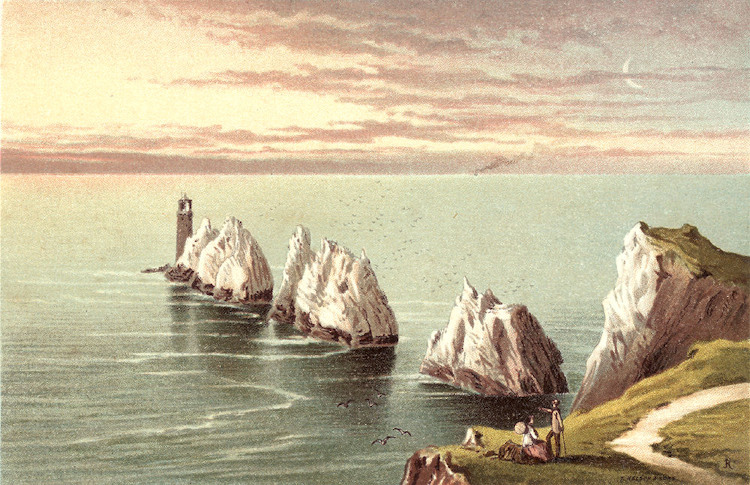 A romantic view of the Needles